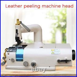 Leather Shovel Peeling Skiving Machine with Brushless Sewing Machine Servo Motor
