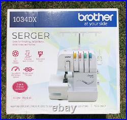 NEW Brother 1034DX Overlock Serger Sewing Machine (SEALED) IN HAND