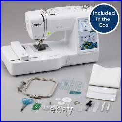 NEW Brother PE535 Computerized Embroidery Sewing Machine With LCD FREE SHIP