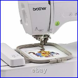 NEW Brother PE550D Embroidery Machine, 125 Built-in Designs, 3.2 LCD, USB