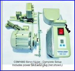 NEW Genuine CONSEW SERVO MOTOR CSM1000 FOR INDUSTRIAL SEWING CS1000 3/4HP