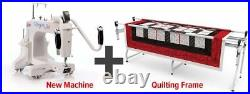 NEW Q'nique 15M (Manual) Long Arm Quilting Machine with Grace SR2+ Frame/Table