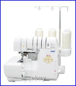 NEW babylock Jet Air Wave Stitch 4-thread Serger Over lock Machine BLE3ATW-2