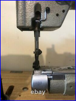 Nakajima 380B Cylinder Arm Sewing Machine great for bags and hats
