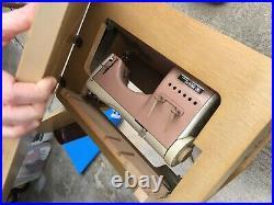 Necchi BU Supernova Ultra Mark 2 Sewing Machine Heavy Duty, rare pink