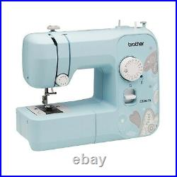 New Brother LX3817A 17-Stitch Full-size Sewing Machine Aqua Turquoise USA SELLER