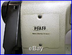 PFAFF 487 Variable Top Feed Lockstitch Reverse Industrial Sewing Machine Head