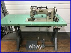 Pfaff 546 2-needle Walking Foot 5/8 Rev 110v Servo Industrial Sewing Machine