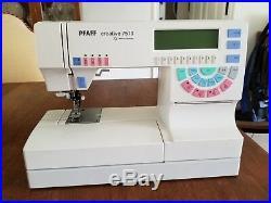 Pfaff 7570 Computerized Embroidery Sewing Machine