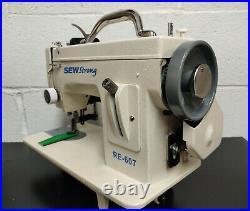 SEWSTRONG RE-607 Portable Walking Foot Sewing Machine