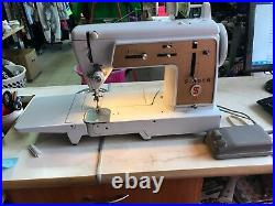 SINGER 634 G Sewing Machine Made in Germany Vintage Sewing Machine, Video Inside