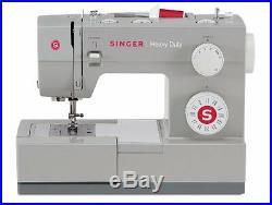 SINGER Sewing Machine Heavy Duty Extra High Speed Metal Frame Powerful Motor