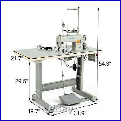 Sewing Machine with Table +Servo Motor +Stand &LED Lamp Set DDL-8700 Manual