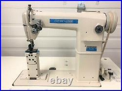 Sewline 820 New Two-needle Roller Feed 110 Volt Servo Industrial Sewing Machine