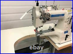 Sewline Sl-335b Cylinder Walking Foot 110v Servo Motor Industrial Sewing Machine