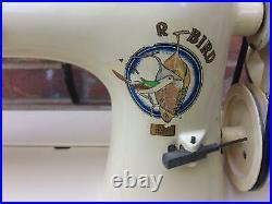 Tailor Bird walking foot vintage Sewing Machine