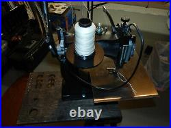 Tippmann Boss Leather Sewing Machine with Cobbler Bench and Accessories