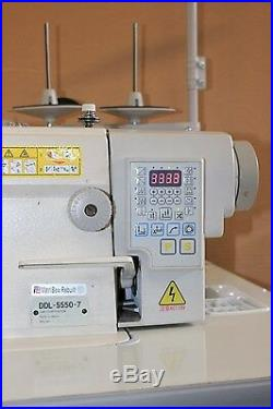 Used Automatic Industrial Sewing machine Juki DDL-5550-7
