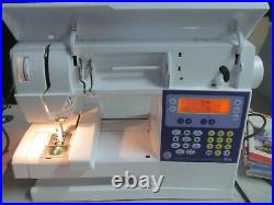 VIKING HUSQVARNA IRIS SEWING EMBROIDERY QUILTING SEWING MACHINE WithEXTRAS