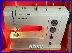 Vintage Bernina Sewing Machine 830 Record Electronic Extras RARE 830E SERVICED