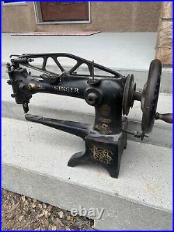 Vintage Singer Sewing Machine Leather Patcher 29K-2