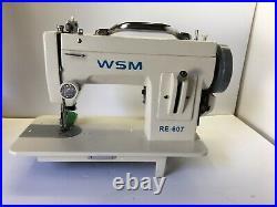 WSM RE-607 - Portable Walking Foot Machine